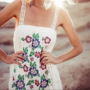 Lovestitch / Romina Embroidered Dress / Peasant